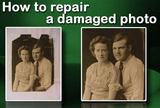 Video: Repair a damaged photo