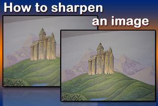 Video: sharpen an image